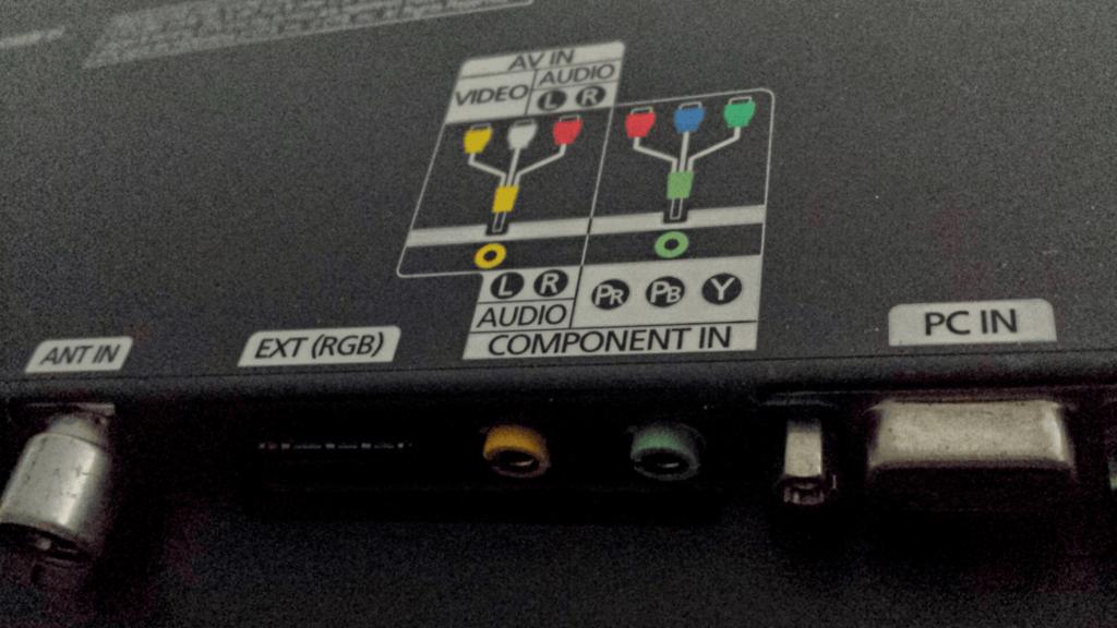 connectique tele lecteur dvd portable